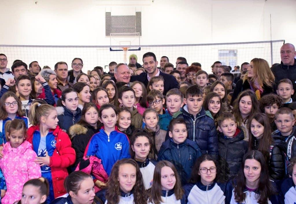 """Завршени радови на објекту спортске хале """"Дом партизана"""" у Лесковцу"""