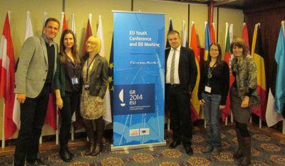 Делегација Републике Србије на Министарској конференцији за младе ЕУ