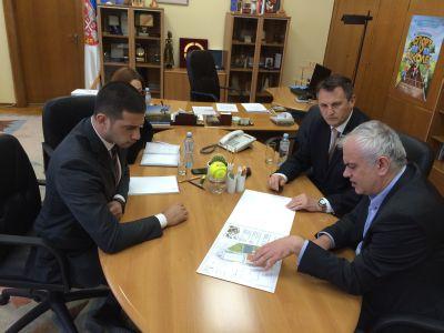 Министарство савезник Тениском савезу Србије