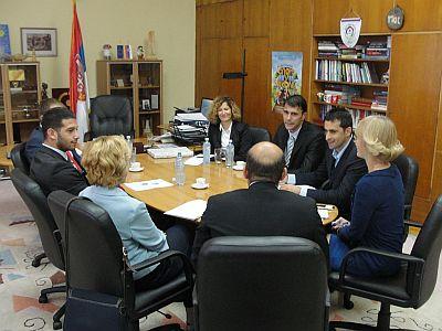 Министар омладине и спорта састао се са директором Управе за спорт и младе Црне Горе