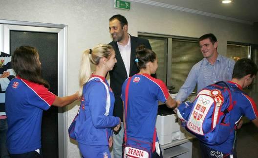 Перуничић дочекao освајаче медаља са Олимпијских игара младих