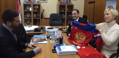 Ширење српско-руског пријатељства кроз спорт