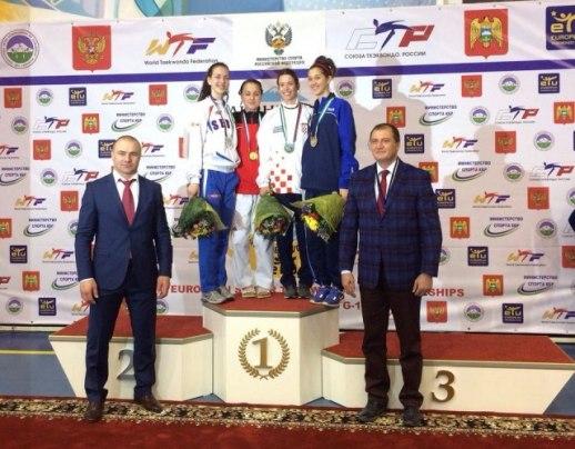 Удовичић честитао Тијани Богдановић освајање сребрне медаље на Европском првенству