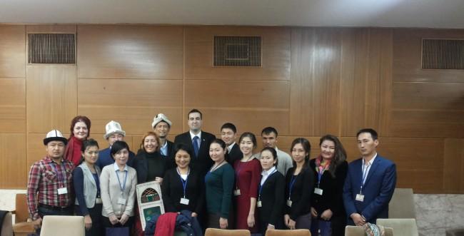 Делегација Киргистана у посети Министарству омладине и спорта