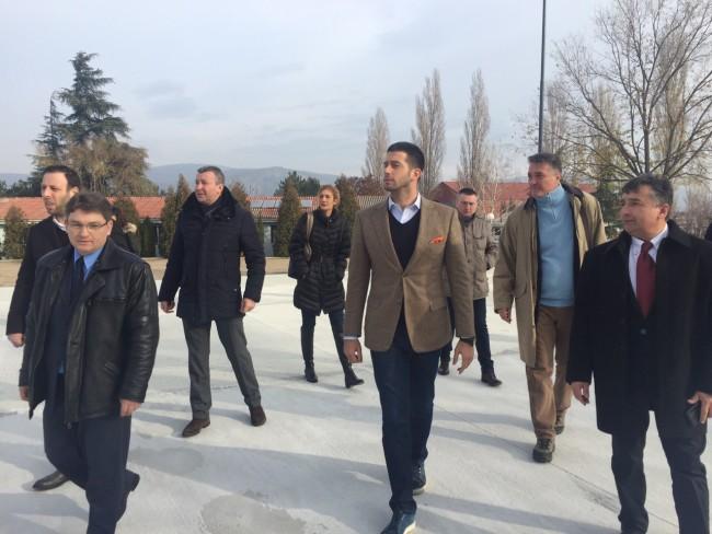 Удовичић у посети Караташу: Биће ово јединствени центар у југоисточној Европи!