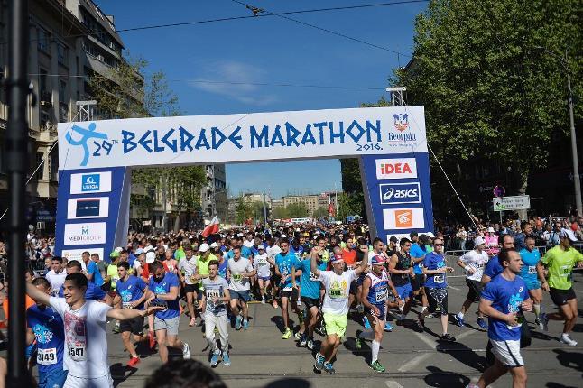 Удовичић учествовао у 29. Београдском маратону