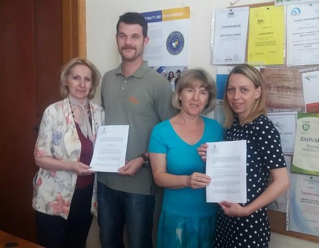 Потписани уговори са Националном асоцијацијом практичара/ки омладинског рада - НАПОР и Националном асоцијацијом канцеларија за  младе – Асоцијација КЗМ