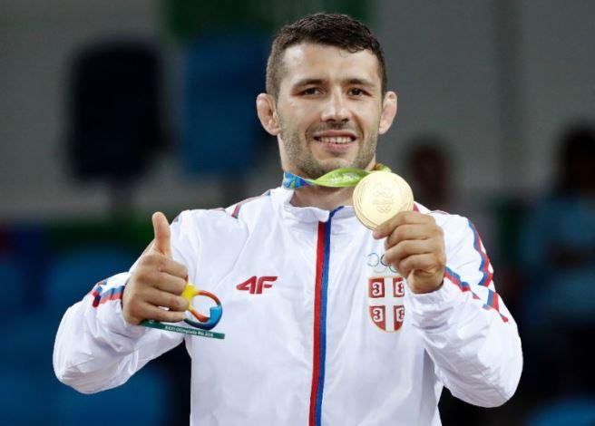 Прослава златне медаље у Рију - Штефанек добио опкладу