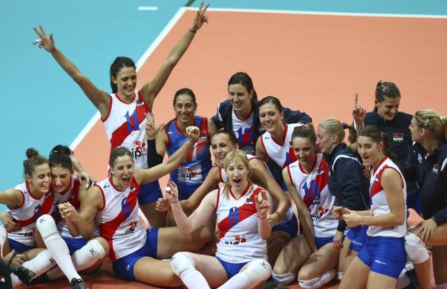 Женска одбојкашка репрезентација Србије