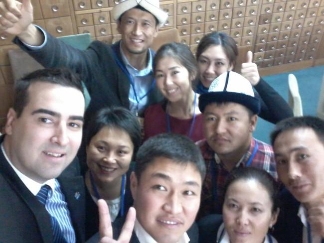 Fond za mlade talente, Miloš Radosavljević, Kirgistan