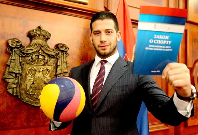 Vanja Udovicic, Zakon o sportu