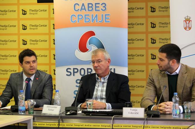Konferencija, najava Sajam sporta, Vawa Udovičić