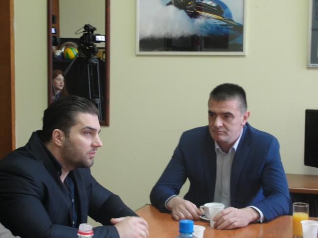 Предраг Перуничић, Петар Миленковић
