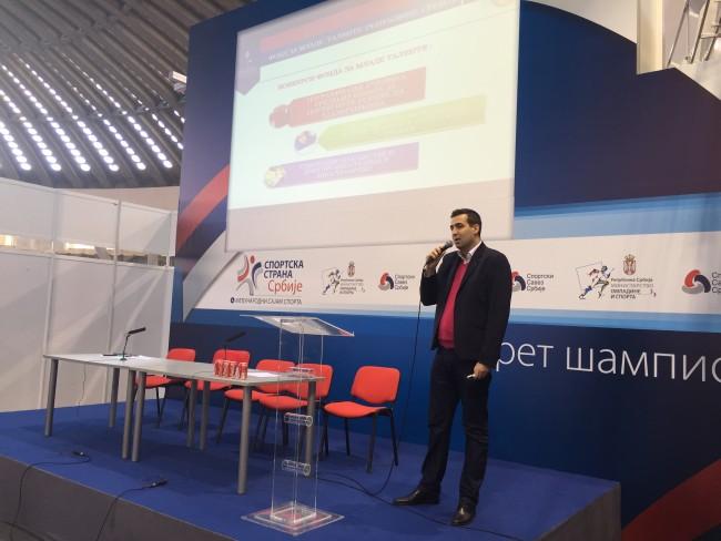 Фонд за младе таленте, Милош Радосављевић, Сајам спорта
