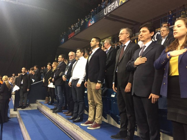 Министар омладине и спорта, Вања Удовичић, ЕП у футсалу