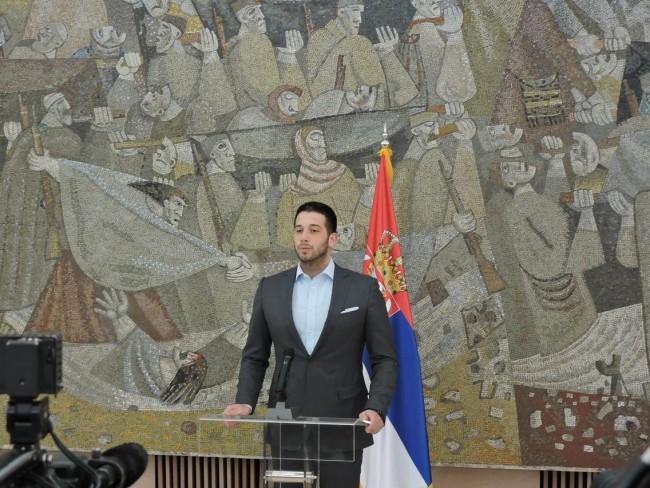 Министар омладине и спорта Вања Удовичић, Закон о спорту