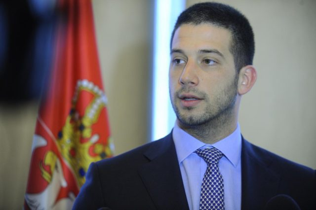 Ministar omladine i sporta, Vanja Udovičić