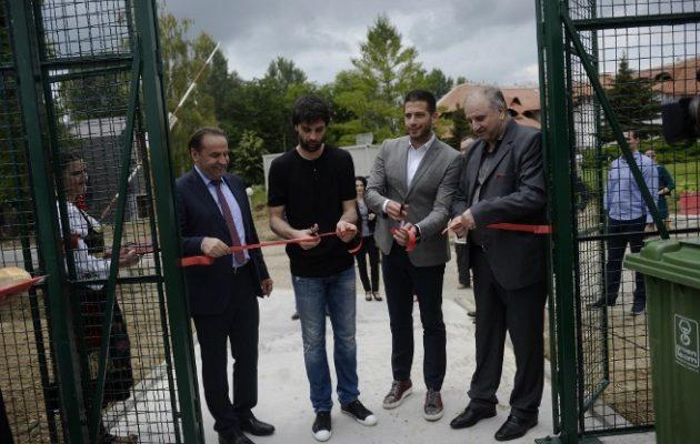 Otvoreni košarkaški tereni 'Srebrno jezero'