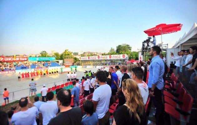 Udovičić na Evropskom turniru u fudbalu na pesku