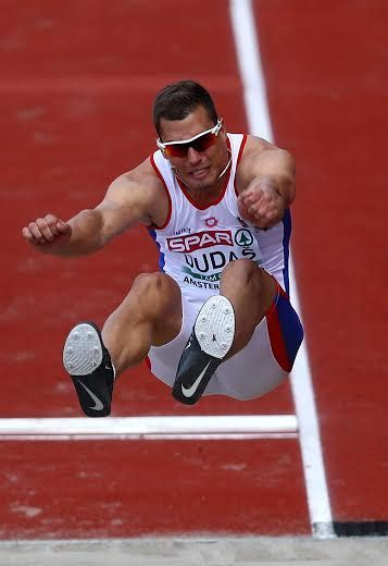 AMSTERDAM, NETHERLANDS - JULY 06:  Mihail Dudas of Serbia in action during the mens decathlon on day one of The 23rd European Athletics Championships  at Olympic Stadium on July 6, 2016 in Amsterdam, Netherlands.  (Photo by Dean Mouhtaropoulos/Getty Images)