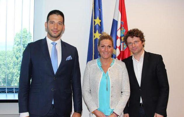 Удовичић са Шустаром: Боља сарадња са Хрватском у области спорта
