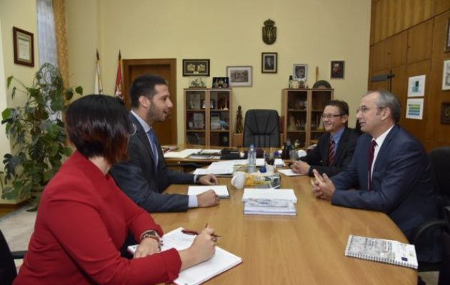 Udovičić sa Davenportom: 3.5 miliona evra od EU za rekonstrukciju, adaptaciju i završetak sportskih objekata u Srbiji